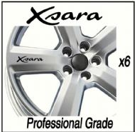 CITROEN XSARA CAR WHEEL DECALS